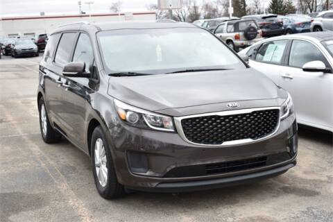 2018 Kia Sedona LX for sale at BOB ROHRMAN FORT WAYNE TOYOTA in Fort Wayne IN