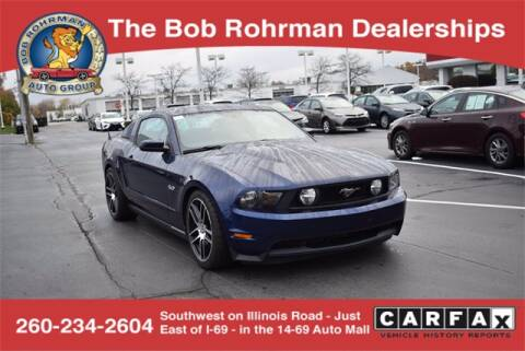 2012 Ford Mustang for sale at BOB ROHRMAN FORT WAYNE TOYOTA in Fort Wayne IN