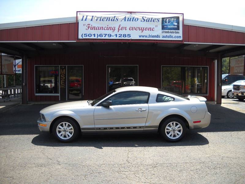 2008 Ford Mustang V6 Deluxe In Greenbrier Ar 2 Friends Auto Sales