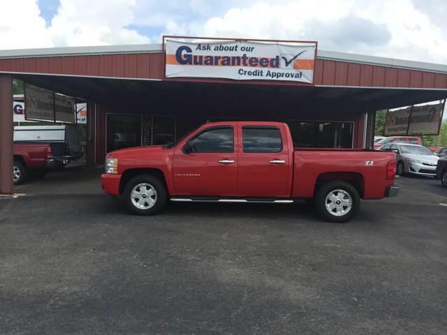 2009 Chevrolet Silverado 1500 4x4 LT 4dr Crew Cab 5.8 ft. SB - Greenbrier AR