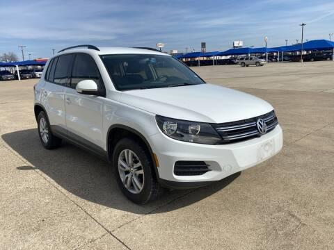 2015 Volkswagen Tiguan S for sale at Lynn Smith Chevrolet in Burleson TX