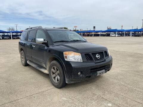 2010 Nissan Armada for sale at Lynn Smith Chevrolet in Burleson TX