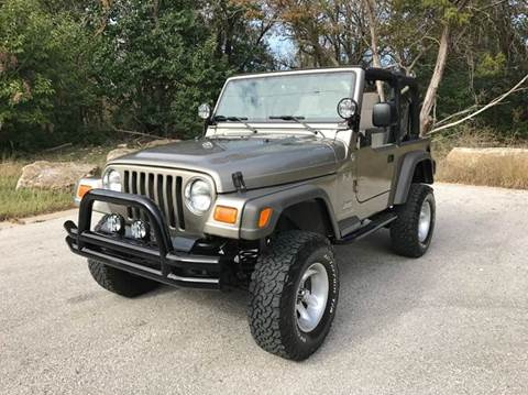 2005 Jeep Wrangler for sale at Centex Sport Imports in Round Rock TX