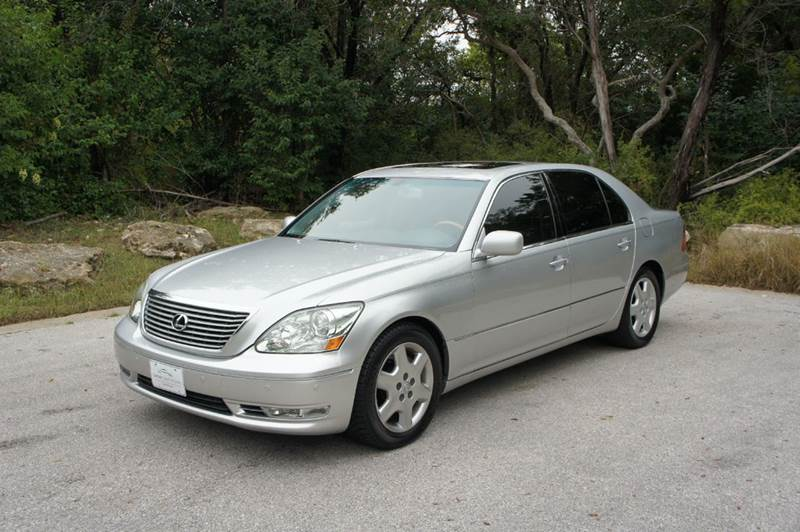 2004 Lexus LS 430 for sale at Centex Sport Imports in Round Rock TX