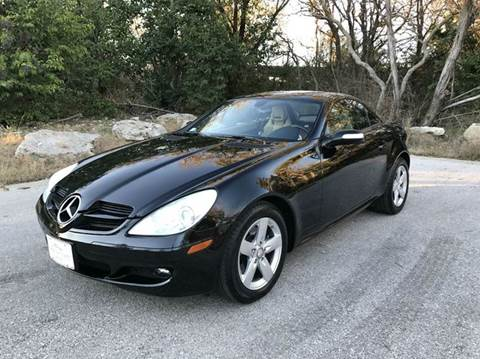 2008 Mercedes-Benz SLK for sale at Centex Sport Imports in Round Rock TX