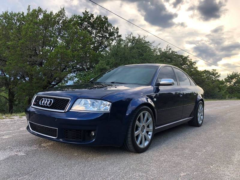 2003 Audi RS 6 for sale at Centex Sport Imports in Round Rock TX