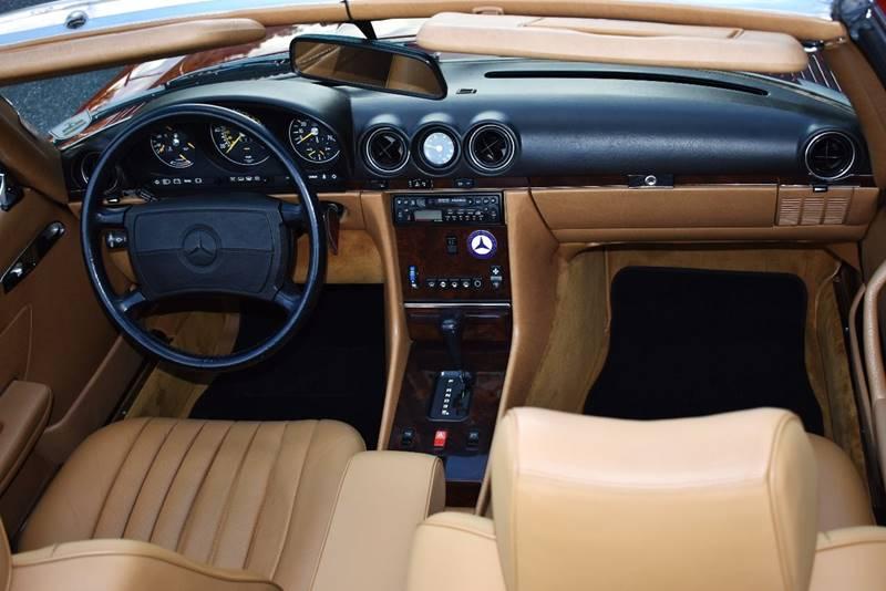 1987 Mercedes-Benz 560-Class 560 SL 2dr Convertible - Jacksonville FL