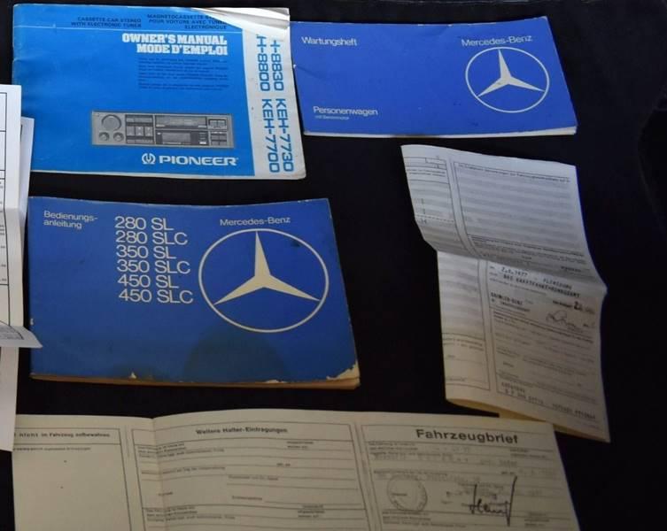 1977 Mercedes-Benz SL-Class 280SL Manual Transmission - Jacksonville FL