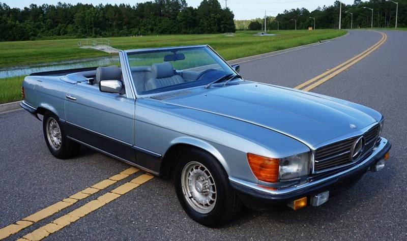 1985 mercedes benz sl class 500sl r107 european model in for 1985 mercedes benz 500sl
