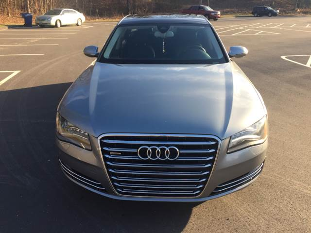 2013 Audi A8 L for sale at Family Auto Center in Waterbury CT