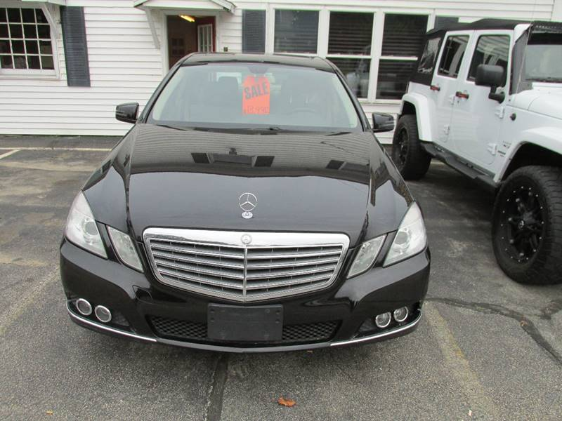 2011 Mercedes-Benz E-Class for sale at Steven's Auto Sales in Derry NH
