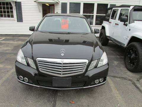 2011 Mercedes-Benz E-Class for sale in Derry, NH