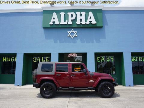 2007 Jeep Wrangler Unlimited for sale in Lafayette, LA