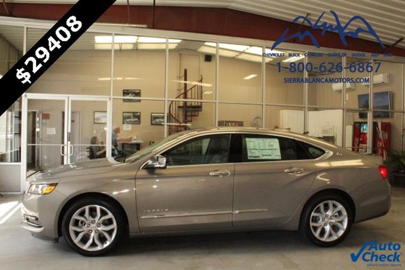 2017 Chevrolet Impala Premier 4dr Sedan In Ruidoso Nm