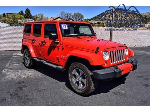 2017 jeep wrangler for sale in new mexico for Sierra blanca motors ruidoso