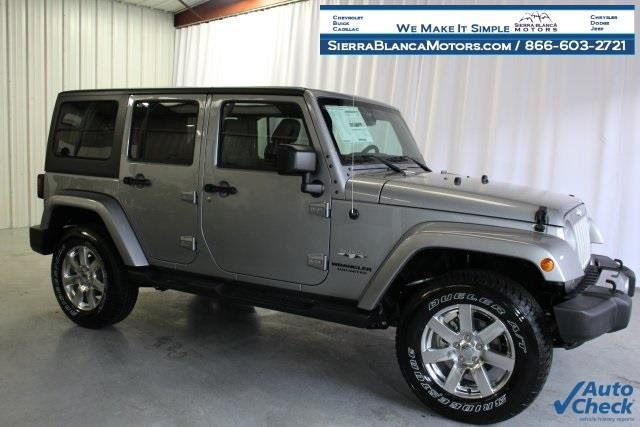 2016 Jeep Wrangler Unlimited Unlimited Sahara - Ruidoso NM