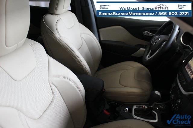 2017 Jeep Cherokee 4x4 Limited 4dr SUV - Ruidoso NM