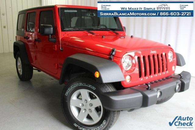2017 Jeep Wrangler Unlimited Unlimited Sport - Ruidoso NM