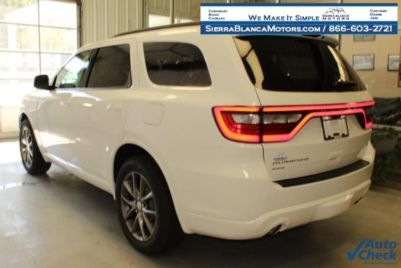 2017 Dodge Durango AWD GT 4dr SUV - Ruidoso NM