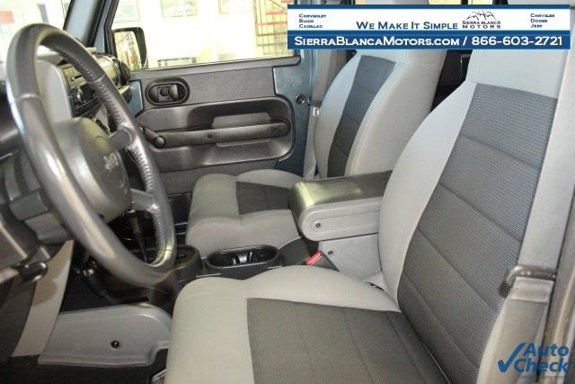 2008 Jeep Wrangler Unlimited 4x4 X 4dr SUV - Ruidoso NM