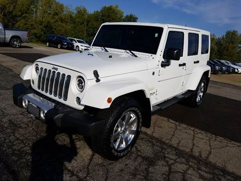 2015 Jeep Wrangler Unlimited for sale in Canton, IL