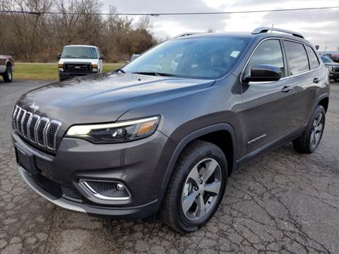 2020 Jeep Cherokee for sale at Art Hossler Auto Plaza Inc - New Chrysler in Canton IL