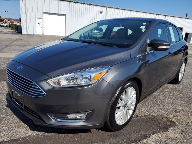 2018 Ford Focus for sale at Art Hossler Auto Plaza Inc - Used Inventory in Canton IL