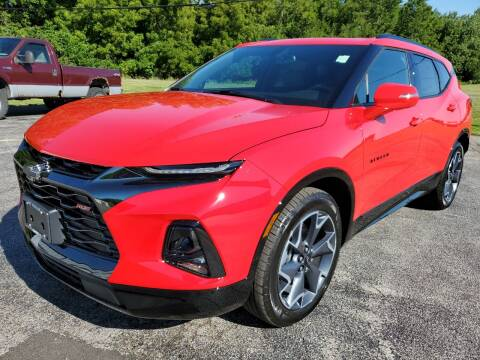 2020 Chevrolet Blazer for sale at Art Hossler Auto Plaza Inc - New GM in Canton IL