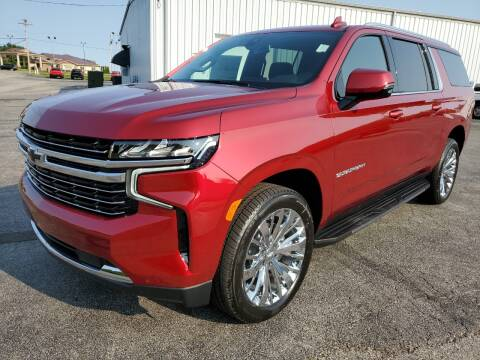 2021 Chevrolet Suburban for sale at Art Hossler Auto Plaza Inc - New GM in Canton IL