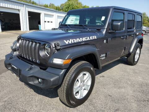 2021 Jeep Wrangler Unlimited for sale at Art Hossler Auto Plaza Inc - New Chrysler in Canton IL