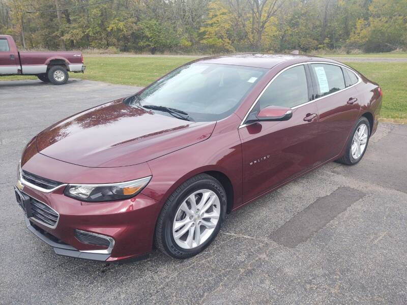 2016 Chevrolet Malibu for sale at Art Hossler Auto Plaza Inc - Used Inventory in Canton IL