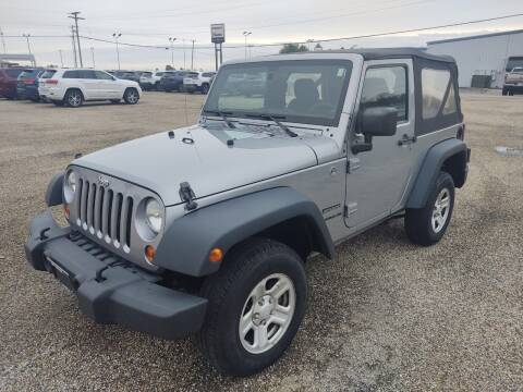 2013 Jeep Wrangler for sale at Art Hossler Auto Plaza Inc - Used Inventory in Canton IL
