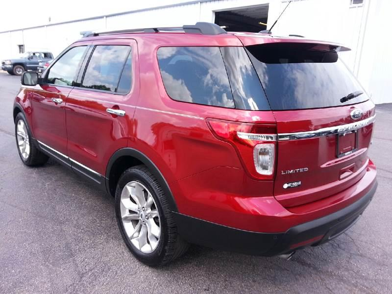 2013 Ford Explorer Limited 4dr SUV - Canton IL