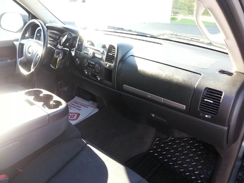 2012 Chevrolet Silverado 1500 4x4 LT 4dr Crew Cab 5.8 ft. SB - Canton IL