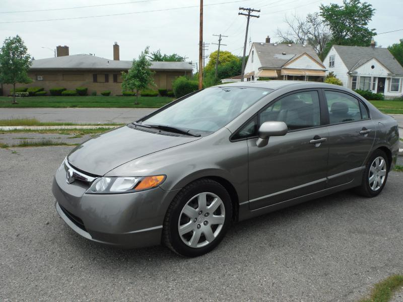 2007 Honda Civic For Sale At PLATINUM CAR COMPANY In Detroit MI