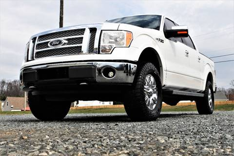 Lifted Ford F X Lariat Super Crew