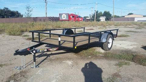 2018 H&H 76 INCH X 12 FOOT UTILITY