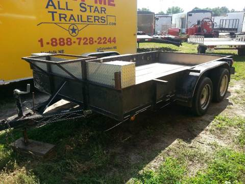 1996 USED 12 FOOT UTILITY