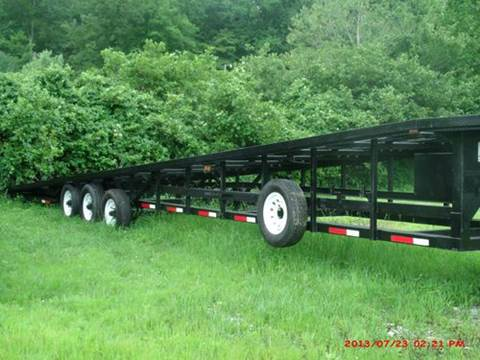 2004 USED 53 FOOT WEDGE TRAILER