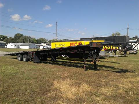 2008 USED 53 FOOT FLATBED WEDGE