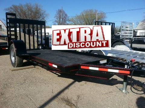 2015 Eagle 12 FOOT FLATBED
