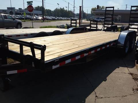 2017 H&H 22 FOOT FLATBED