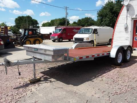 2012 s&w GALVANIZED FLATBED