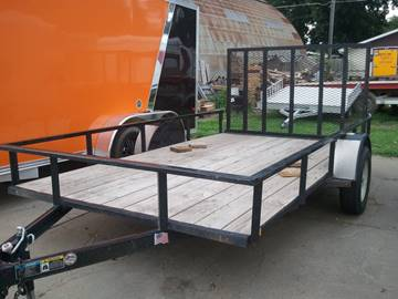 2013 USED 12 FOOT UTILITY