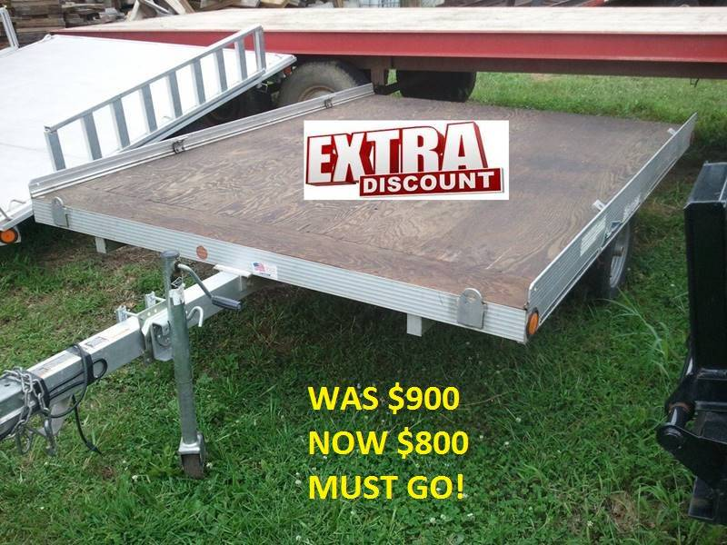 2009 USED 8 FOOT UTILITY SNOWMOBILE /ATV for sale at ALL STAR TRAILERS Used in , NE