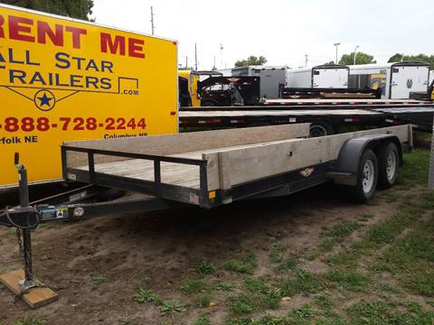 2015 H&H 18 FOOT FLATBED