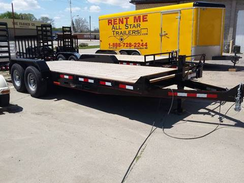 2017 Eagle 20 FOOT FLATBED