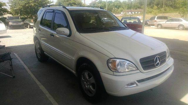 2002 Mercedes-Benz M-Class for sale at GOLD LINE MOTORS in Greenville SC
