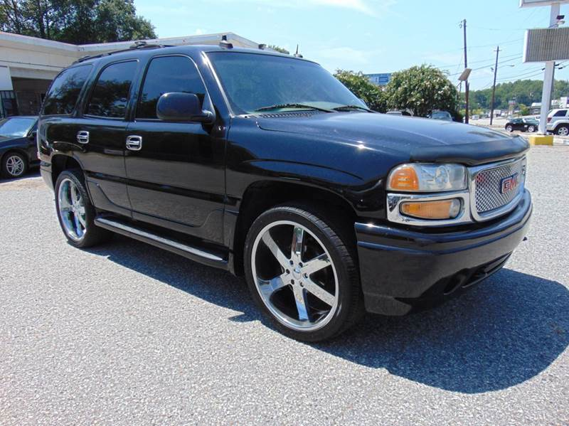 2003 GMC Yukon for sale at GOLD LINE MOTORS in Greenville SC