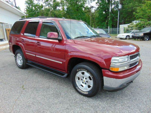 2005 Chevrolet Tahoe for sale at GOLD LINE MOTORS in Greenville SC